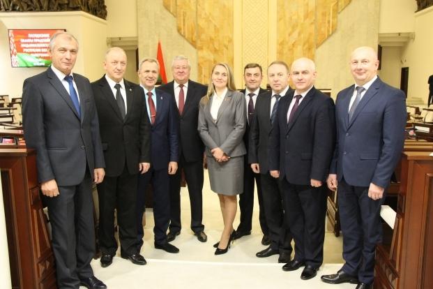 Члены Постоянной комиссии Палаты представителей Национального собрания Республики Беларусь по национальной безопасности