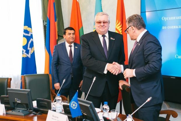 Заседание Постоянной комиссии Парламентской Ассамблеи Организации Договора о коллективной безопасности по социально-экономическим и правовым вопросам